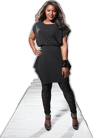 Fashionable Plus Size Dresses Photo Album - Reikian