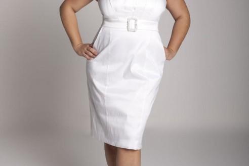 white dresses plus size 2