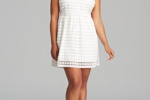 white dresses plus size 3