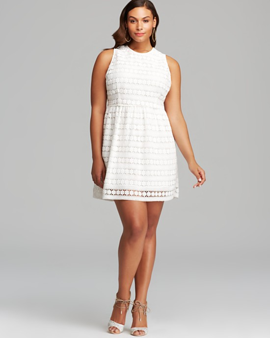 Plus Size White Sundresses Ibovnathandedecker