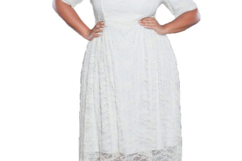 white dresses plus size australia