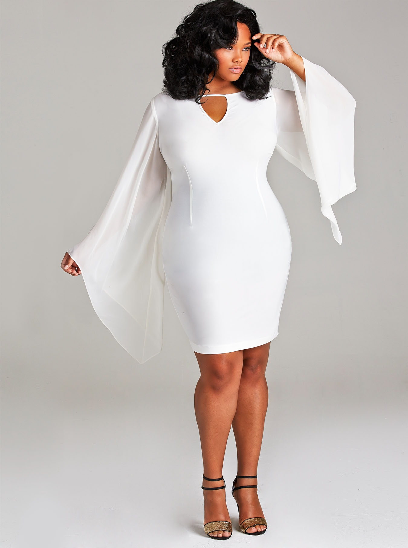 White Formal Plus Size – Fashion dresses