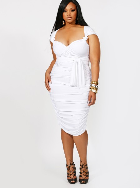 white plus size party dresses - Gowns and Dress Ideas