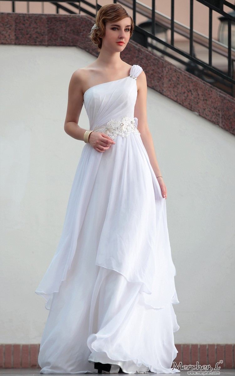 Looks - White long evening gowns video