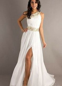 white formal dress 2