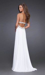 white formal dress adelaide