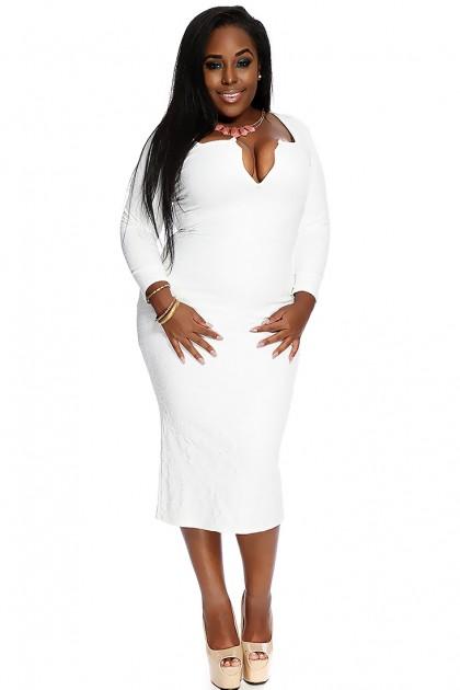 White plus size dress suits - Style Jeans