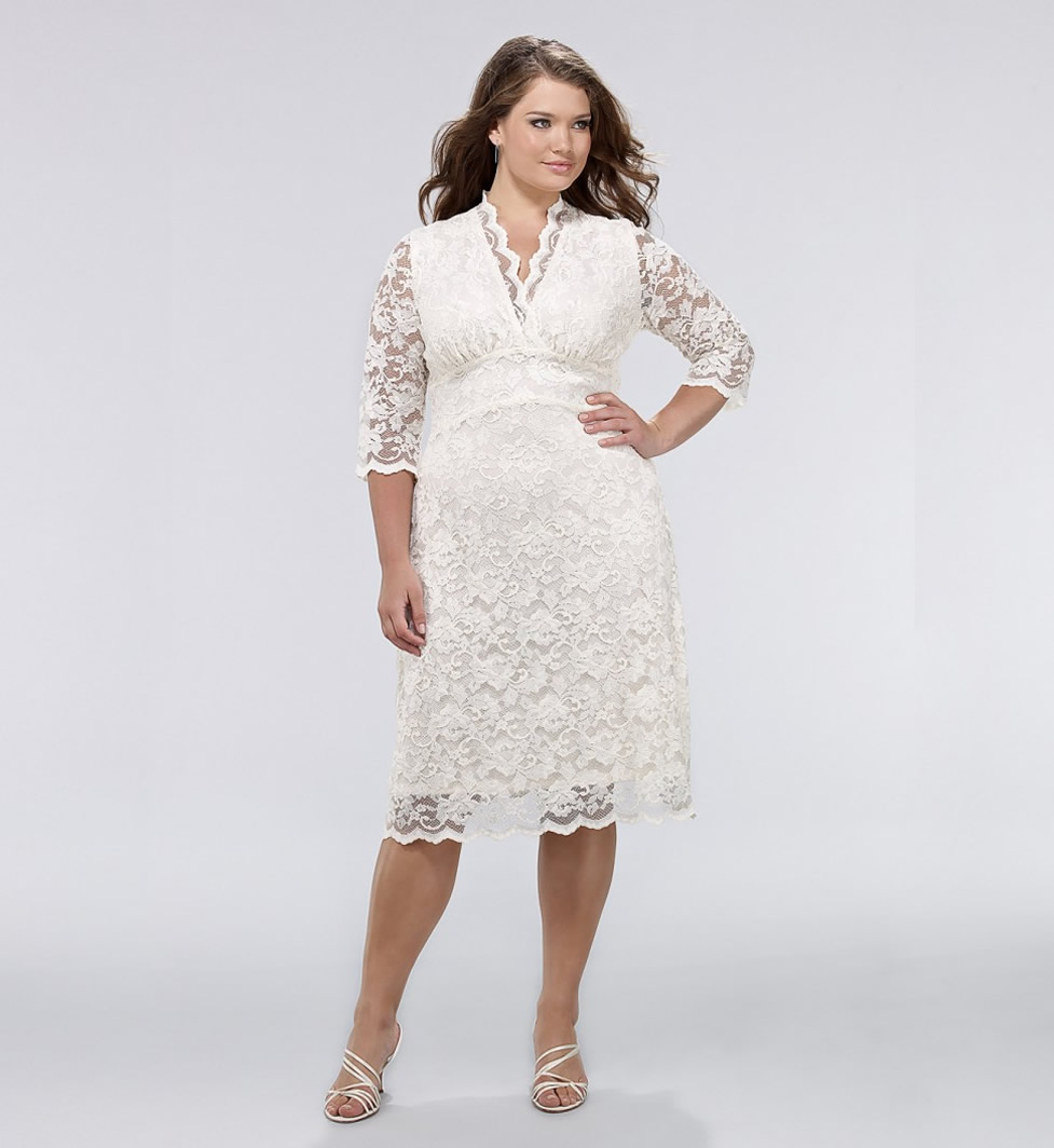 White Plus Size Dress Suits Style Jeans