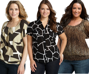 plus size clothing tops - Kids Clothes Zone