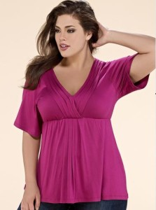 plus size fashion tops canada