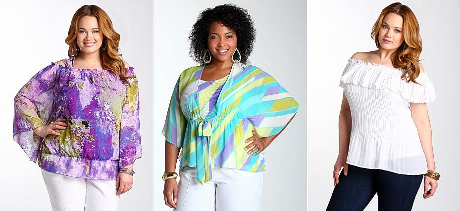 Plus Size Fashion Tops Whole