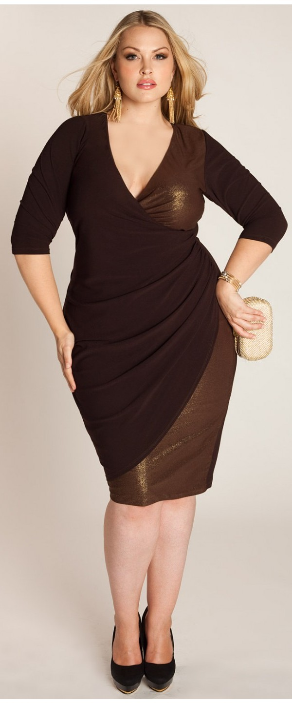 plus size dress evening tops