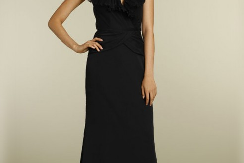 Black Mermaid Bridesmaid Dresses