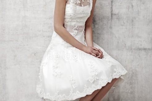 Short Classy Wedding Dress
