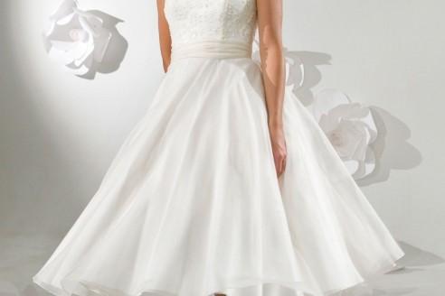 Short Tea-Length Bridesmaid Dresses
