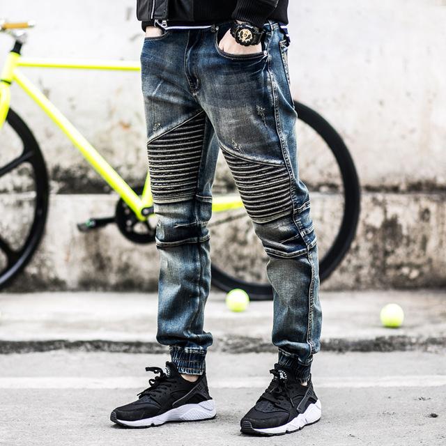Moto Denim Jeans