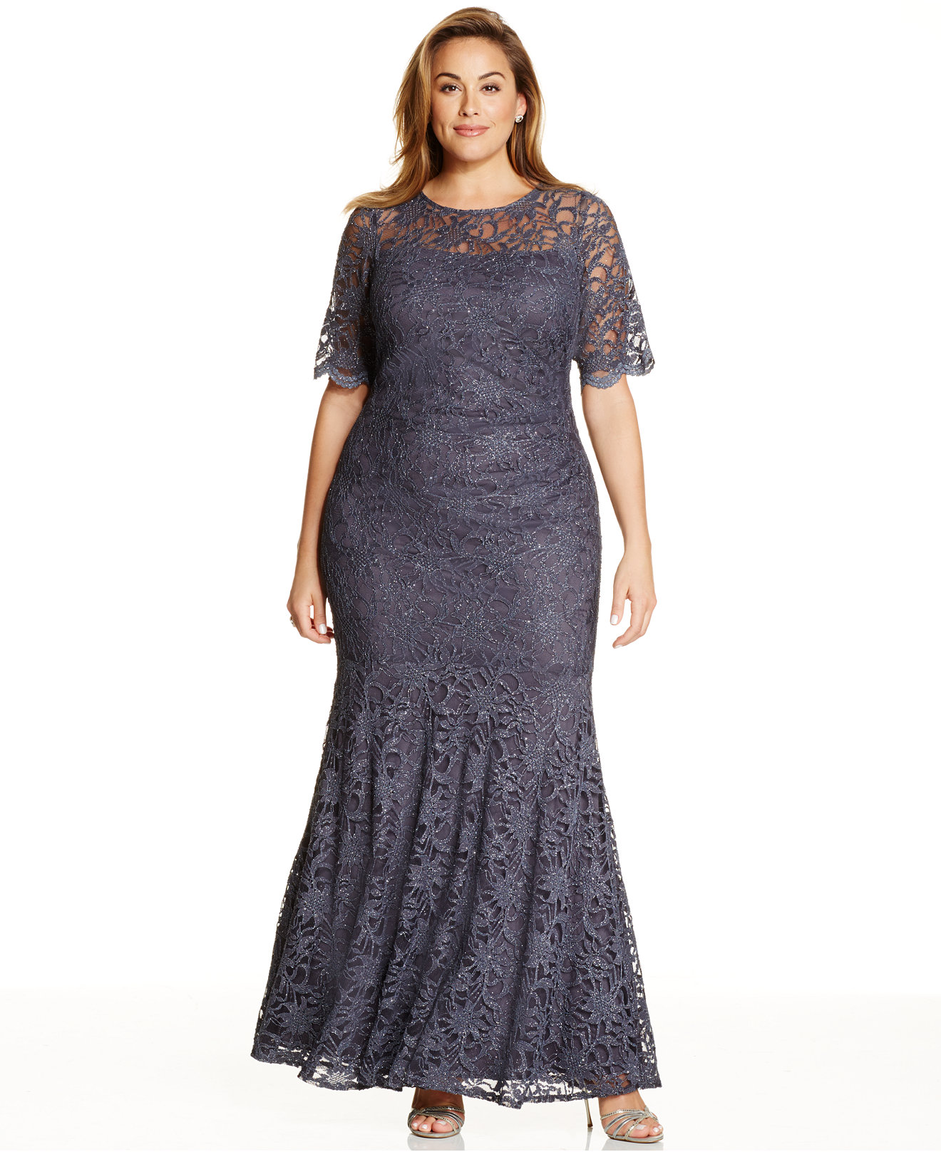Plus Size Dresses Patterns Special Occasions