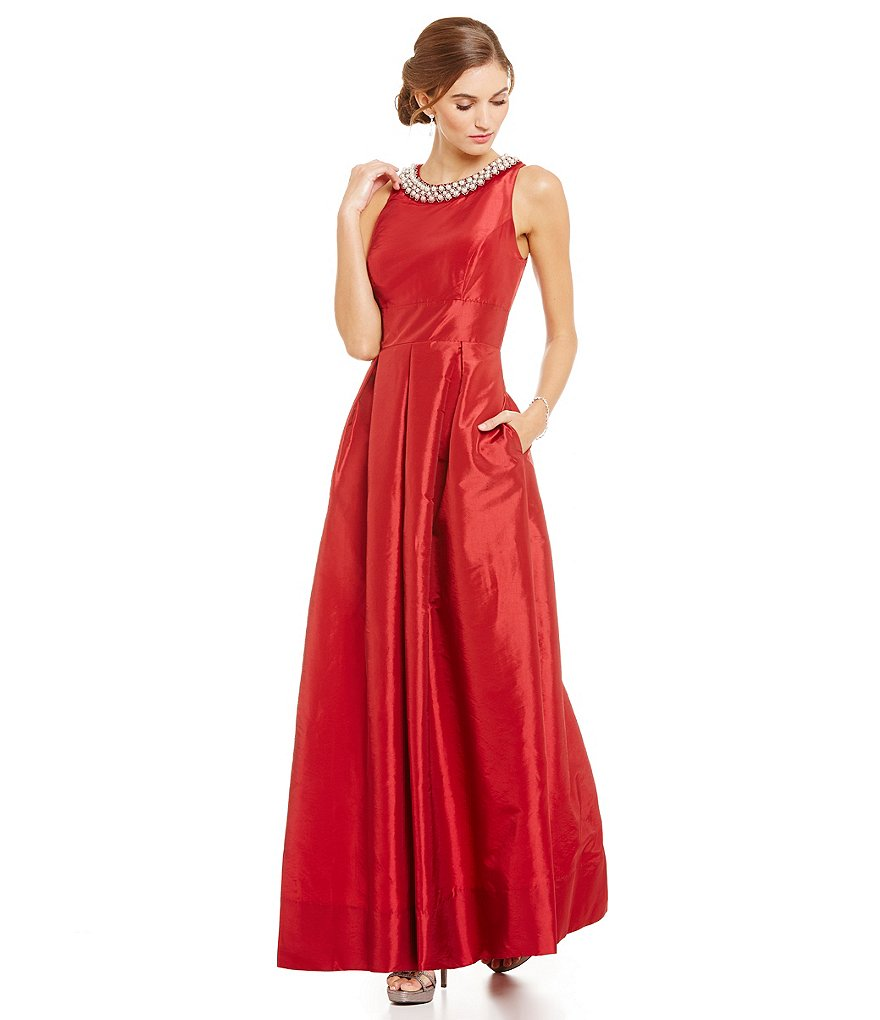 Plus Size Special Occasion Dresses Red - Holiday Dresses